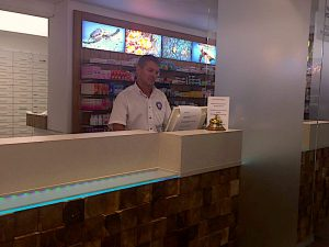 Dick Luttekes of Philipsburg Pharmacy